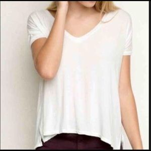 Brandy Melville White T-shirt S